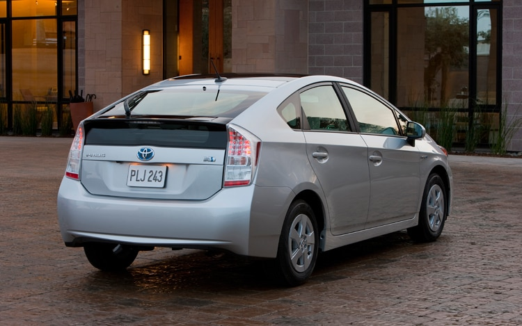 2011 Toyota Prius Rear View1