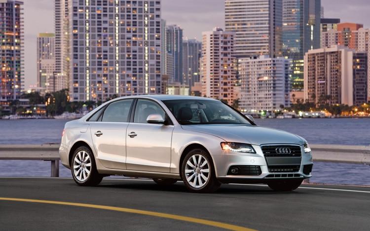 2011 Audi A4 Front Three Quarters