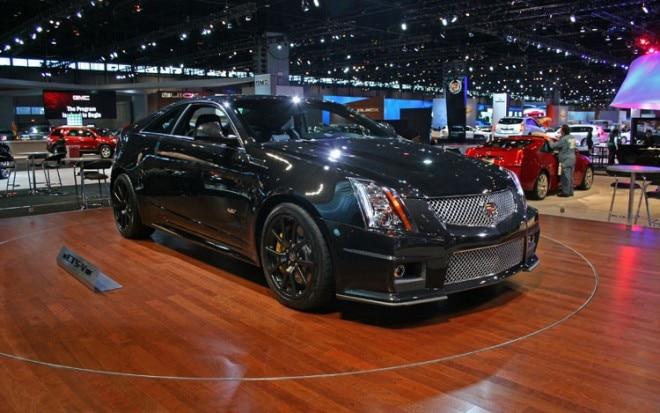 2011 Cadillac CTS V Coupe Black Diamond Edition Front Three Quarter1 660x413