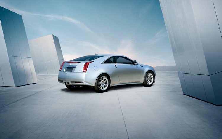 2011 Cadillac Cts Coupe Rear Tq1