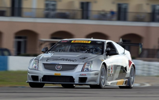 2011 Cadillac Racing Cts V Coupe Racecar Test 41 660x413