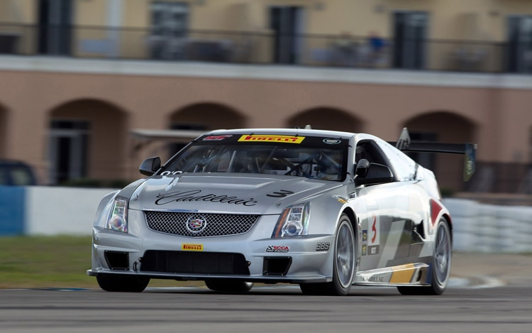 2011 Cadillac Racing Cts V Coupe Racecar Test 41