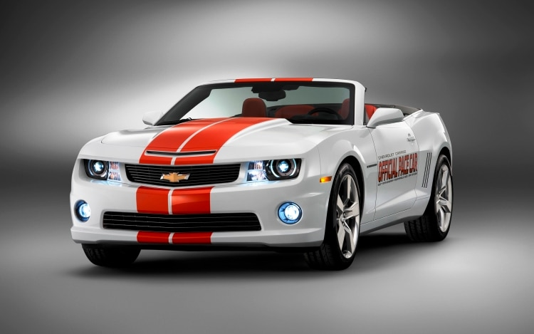 2011 Chevrolet Camaro Convertibel Ss Indy 500 Pace Car1