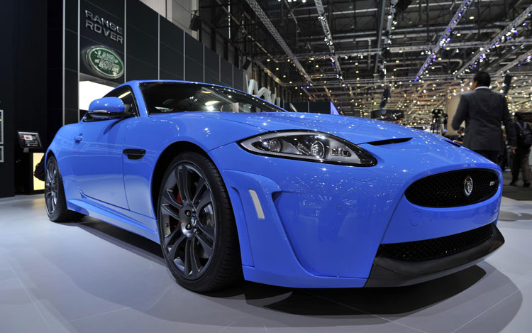 2011 Jaguar XKR S Front End