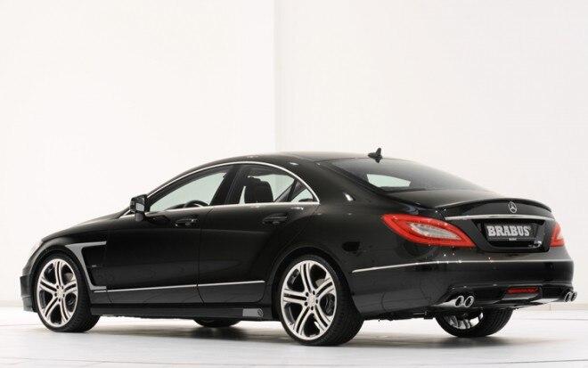 2011 Mercedes Cls Brabus Rear Quarter Mid1 660x413