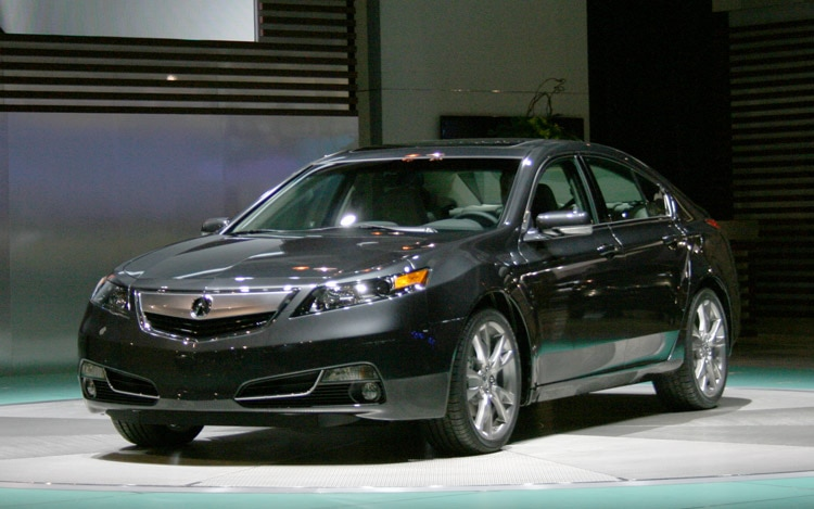2012 Acura Tl Front Three Quarter Right1