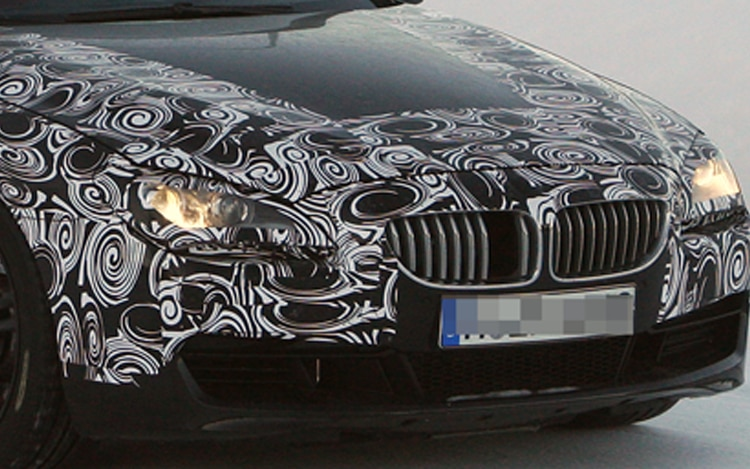 2012 Bmw M6 Convertible Spy Shot