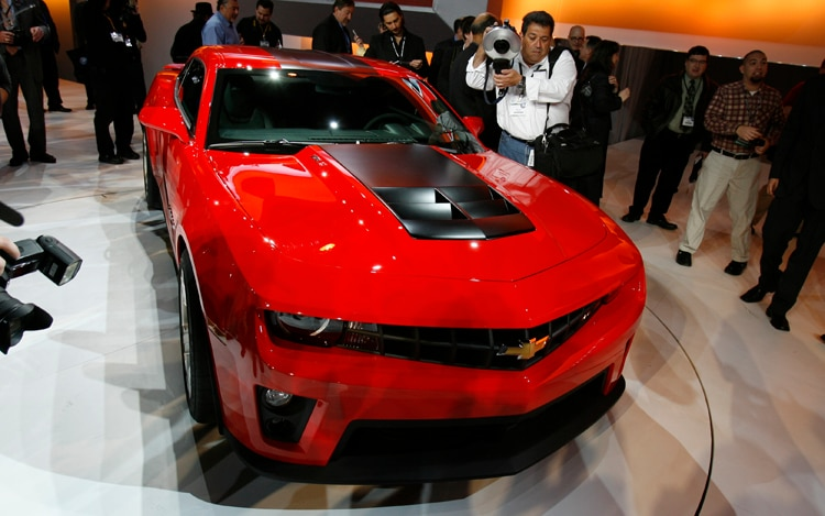 2012 Chevrolet Camaro Zl1 Front View