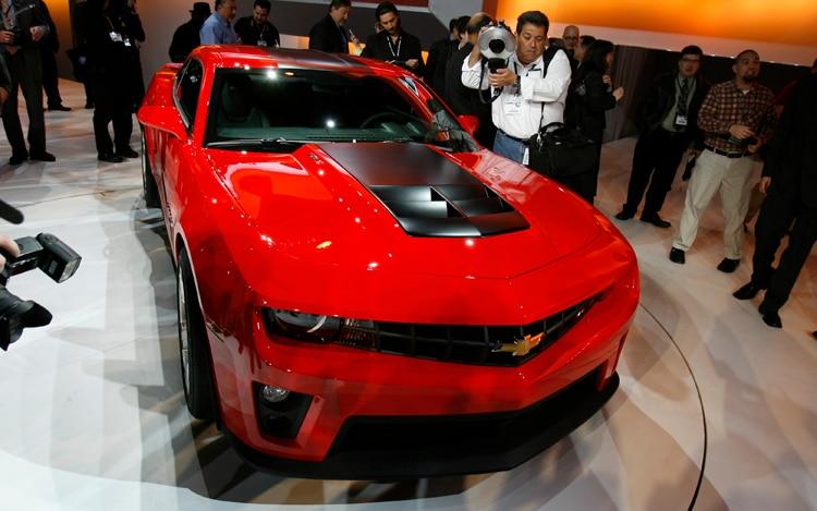 2012 Chevrolet Camaro Zl1 Front View1