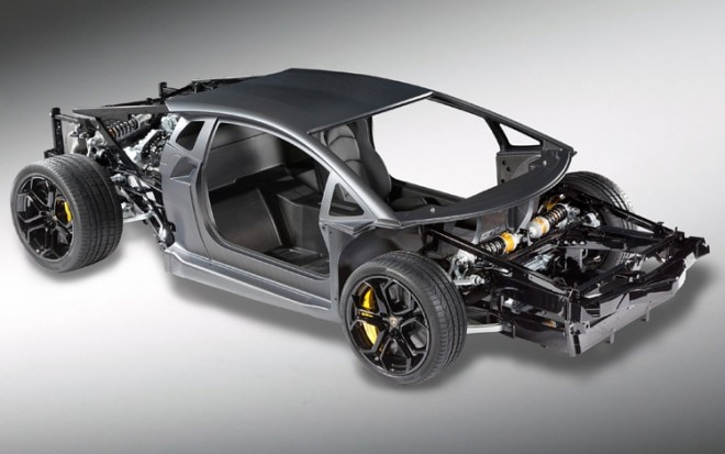2012 Lamborghini Aventador Chassis Front Three Quarter1 660x413
