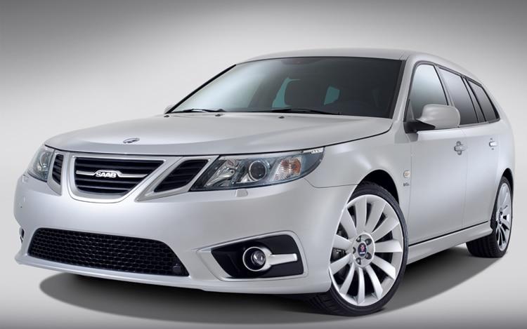 2012 Saab 9 3 Sportcombi Front1