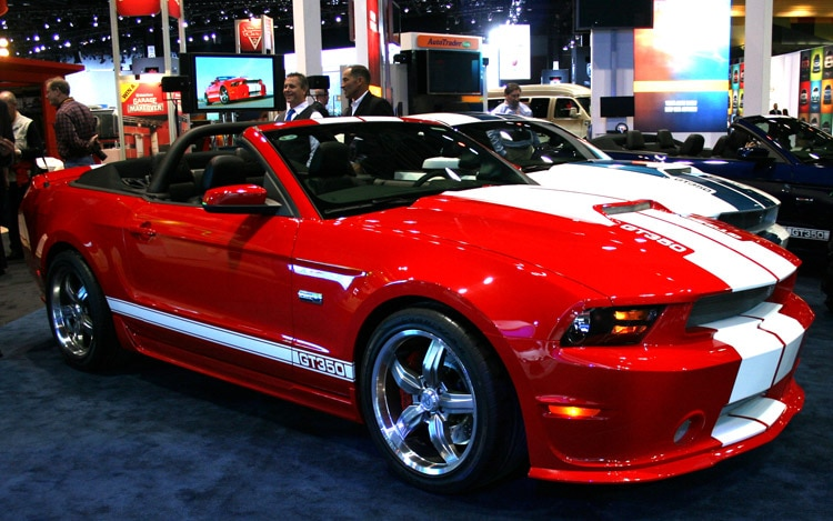2012 Shelby Mustang Gt 350 Front Three Quarter1