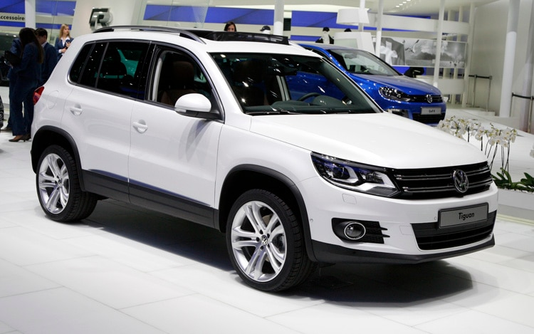 2012 Volkswage Tiguan Front Three Quarters