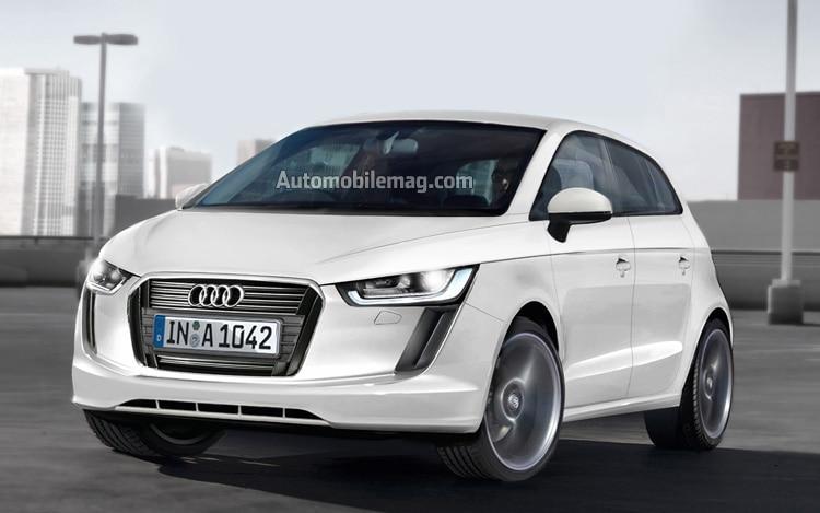 2015 Audi A2 Front Illustration