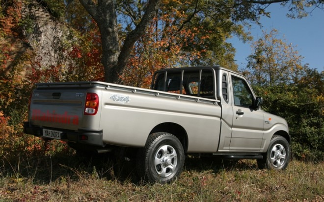 Mahindra Two Door Truck Rear Side View1 660x413