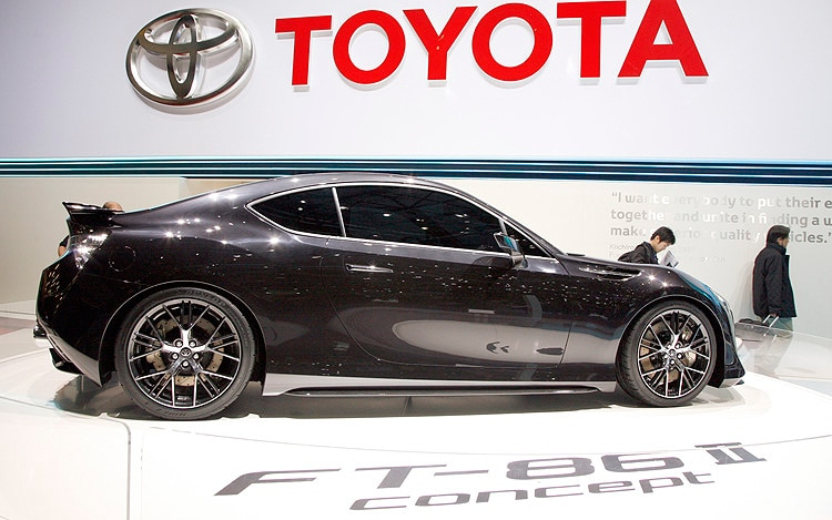 Toyota FT 86 II Concept Side Profile 21