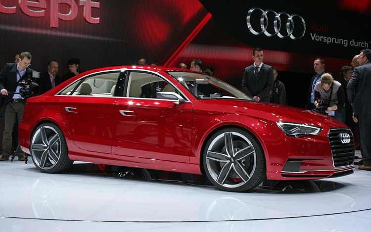 Audi A3 Concept Front Three Quarter