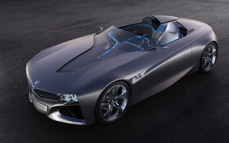 Bmw Vision Connecteddrive Concept Front Three Quarter View11