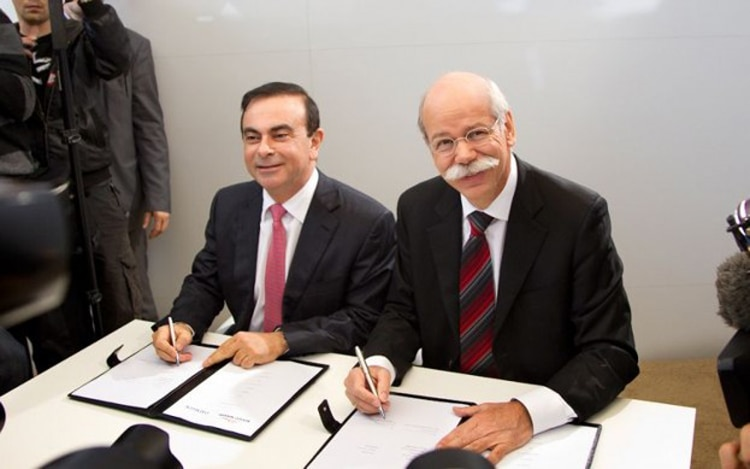 Carlos Ghosn And Dieter Zetsche1