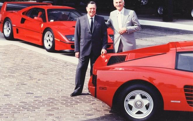 Chuck Jordan And Sergio Pininfarina1 660x413