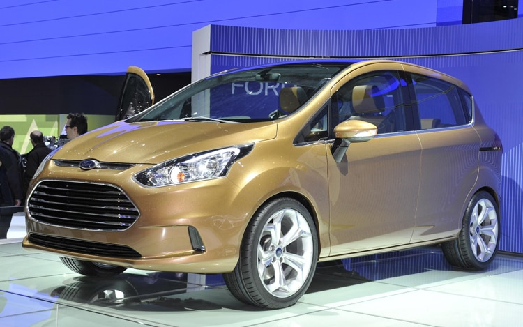 Ford B Max Front View