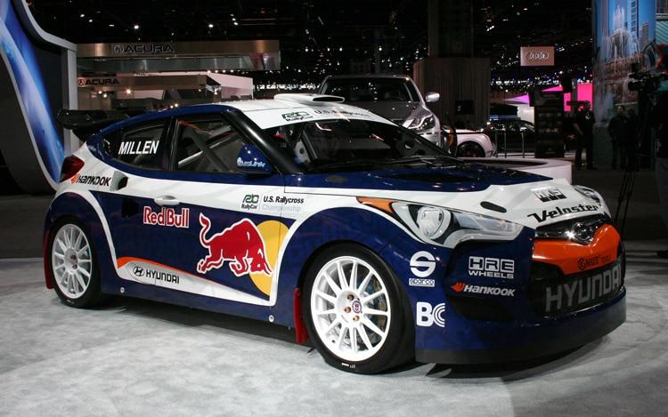 Hyundai Veloster Rmr Rally Car Front Three Quarter