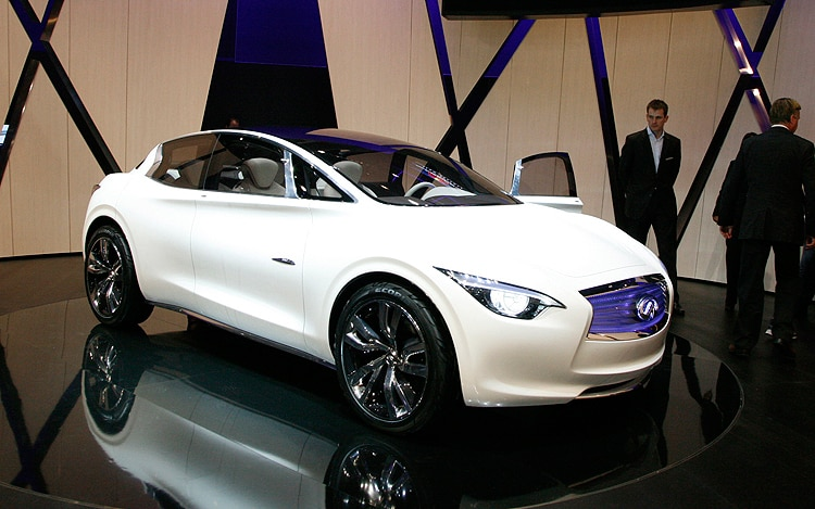 Infiniti Etherea Concept Three Quarters Front View