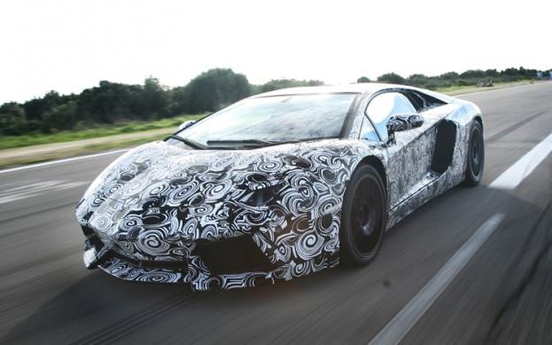 Lamborghini Aventador Teaser1