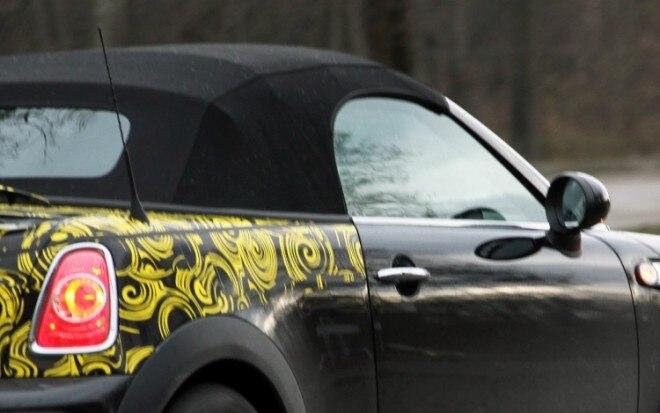 Mini Roadster Spy Picture1 660x413
