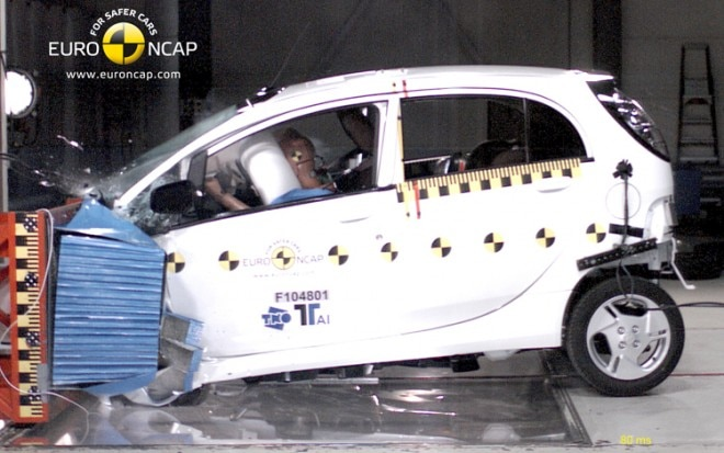 Mitsubishi I Crash Test 660x413
