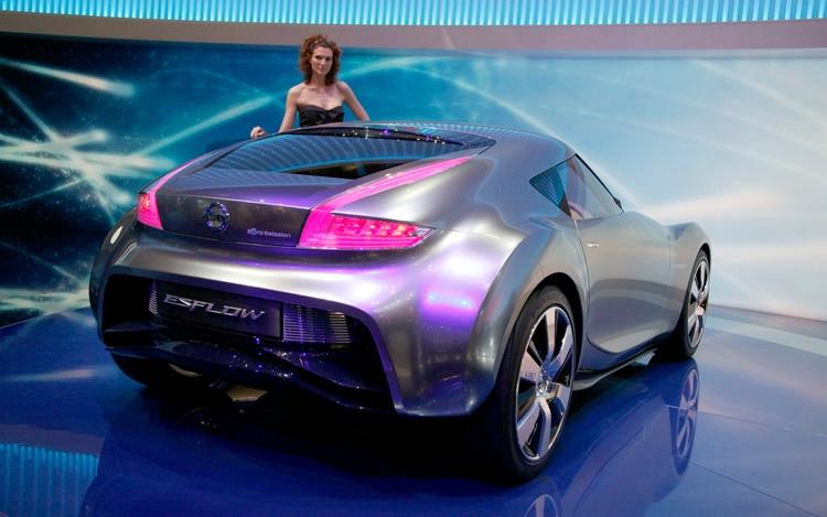 Nissan Esflow Concept Rear 3