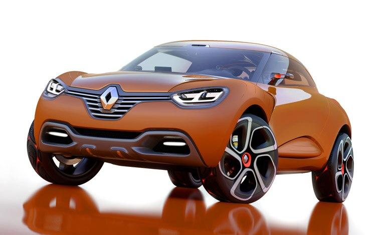 Renault Captur Concept Front1