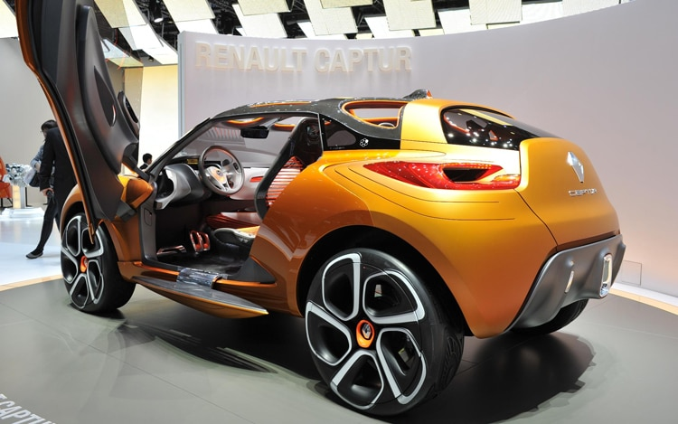 Renault Captur Concept Rear View With Door Open1
