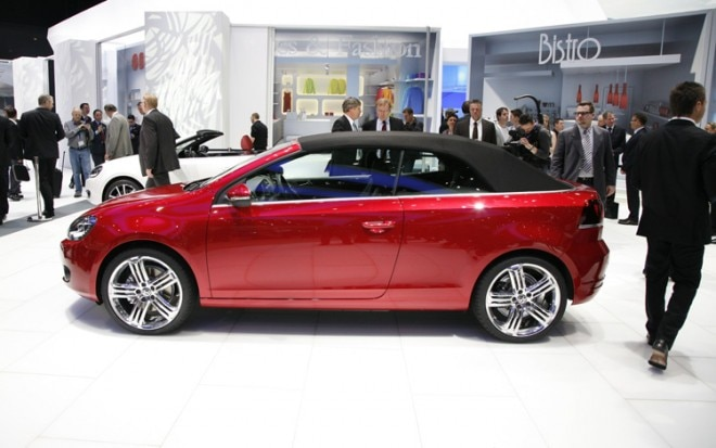 Volkswagen Golf Cabriolet Left Side 2