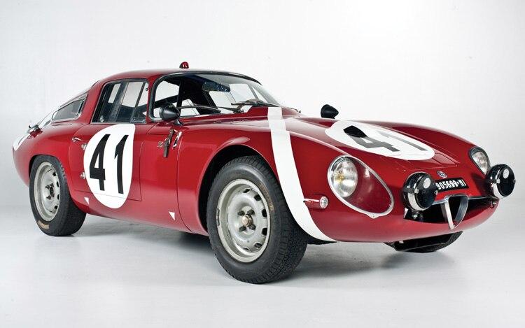 1964 Alfa Romeo Giulia Tz Front Three Quarters View1