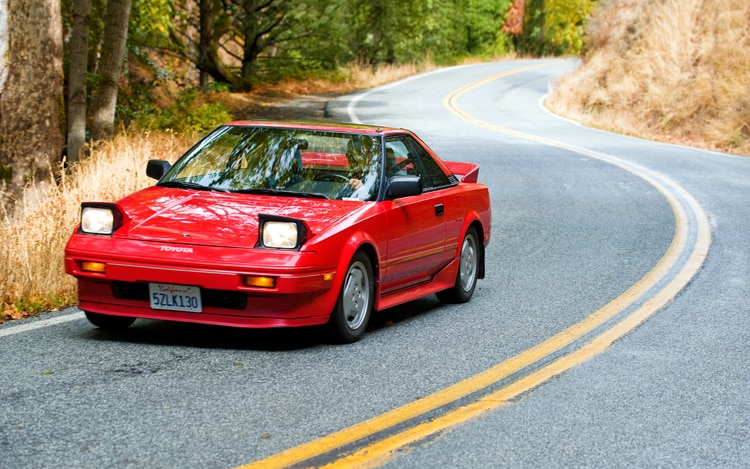 Collectible Classic 1985 1989 Toyota Mr2