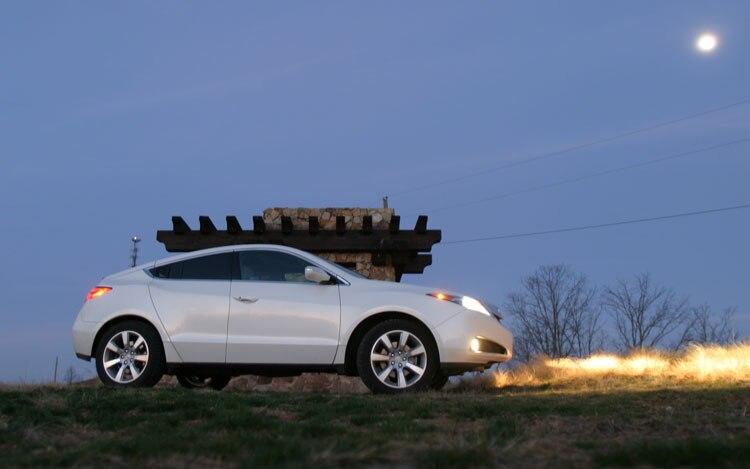 2010 Acura Zdx Side Profile