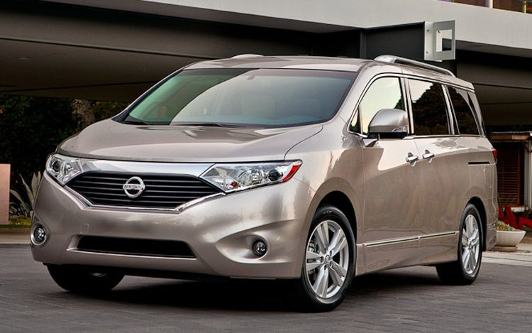 2011 Nissan Quest Front View