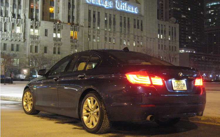 2011 Bmw 535i Rear Three Quarter Chicago