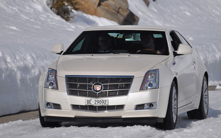2011 Cadillac Cts Coupe Front1