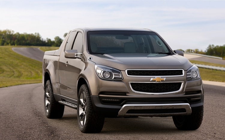 2011 Chevrolet Colorado Show Truck Front1