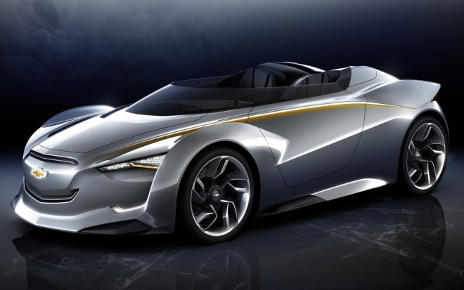 2011 Chevrolet Miray Roadster Concept Front View1 660x413