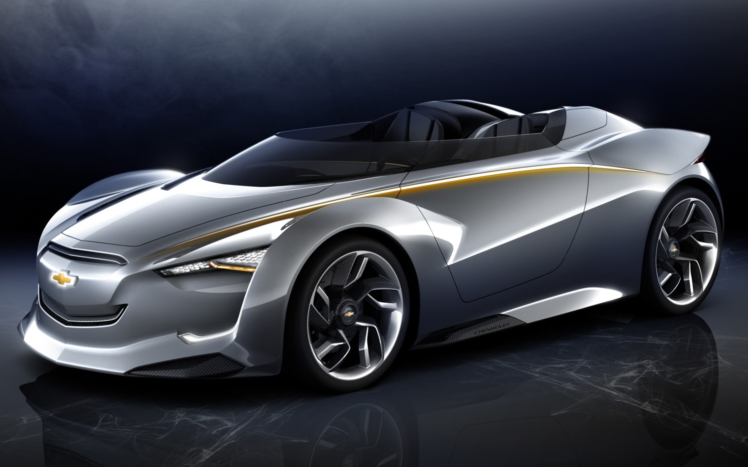 2011 Chevrolet Miray Roadster Concept Front View1