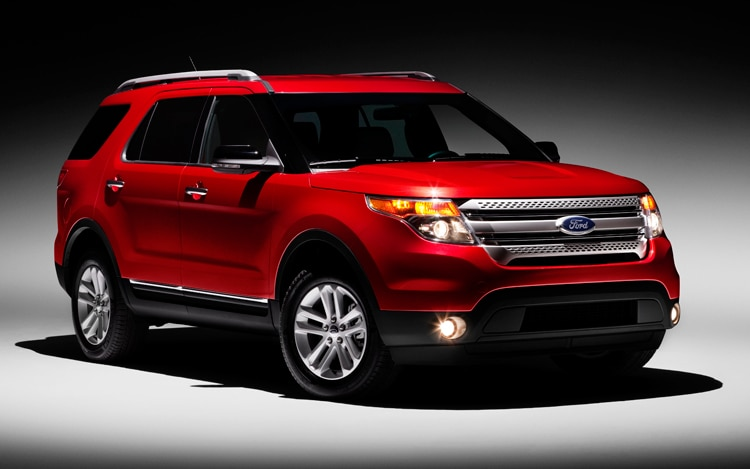 2011 Ford Explorer Front Three Quarter Static