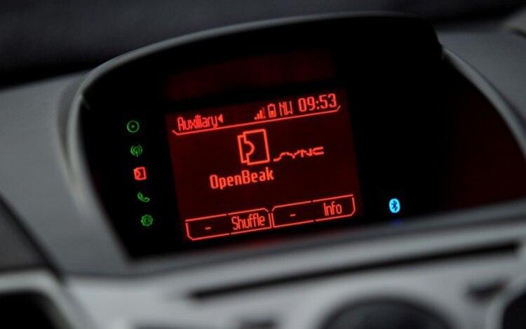 2011 Ford Fiesta Sync