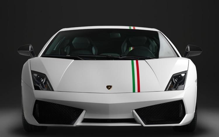 2011 Lamborghini Gallardo Tricolore Front