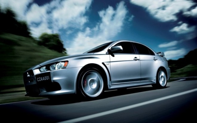 2011 Mitsubishi Lancer Evolution Front Three Quarter1 660x413