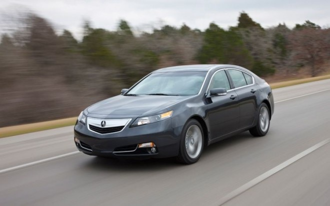 2012 Acura TL Front Three Quarters Driver 660x413