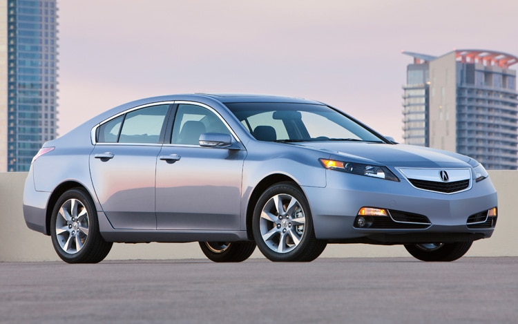 2012 Acura Tl Front Three Quarters View1