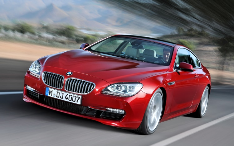 2012 Bmw 650i Coupe Front Three Quarter View